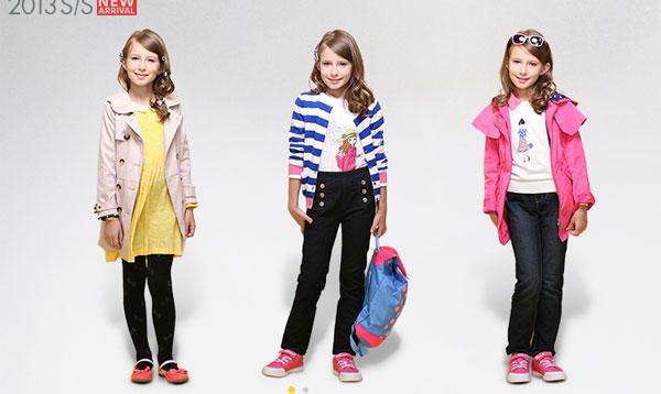 巴拉巴拉童装品牌展示